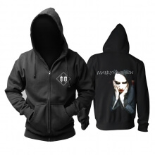 Us Marilyn Manson Hoodie Metal Music Band Sweat Shirt