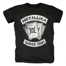 Us Metallica Dealer T-Shirt Hard Rock Metal Graphic Tees