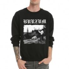 Varg Vikernes Burzum Black Metal Hoodie Crew Neck