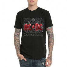 Vintage ACDC Black Ice T-shirt for Womens