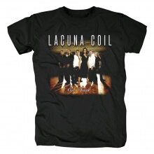 Vintage Lacuna Coil Tee Shirts Italy Metal Rock T-Shirt