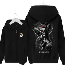 Widowmaker Hoodie Zip Up Black Men's Sweater