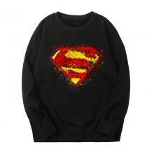 Black Sweatshirts Marvel Superman Jacket
