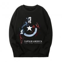 Marvel Captain America Tops The Avengers Sweatshirts