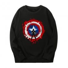 The Avengers Hoodie Marvel Captain America Sweatshirt