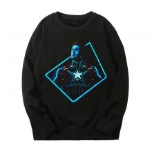 Marvel Captain America Coat The Avengers Sweatshirt