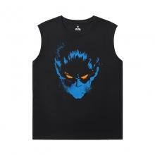 Marvel Wolverine Tee Dark Phoenix X-Men Mens Oversized Sleeveless T Shirt
