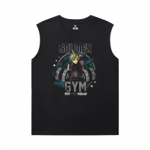 Final Fantasy Tee Shirt Quality Mens XXXL Sleeveless T Shirts