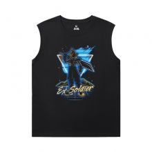 Final Fantasy T Shirt Without Sleeves Cool Tee Shirt