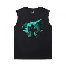 Final Fantasy Sleeveless Tshirt Mens Cotton Tee Shirt