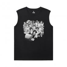 Final Fantasy T-Shirt Cotton Sleeveless Running T Shirt