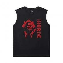 World Of Warcraft Mens Sleeveless T Shirts Blizzard T-Shirts