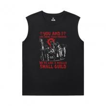 WOW Classic T-Shirts Blizzard Sleeveless Tee Shirts Mens