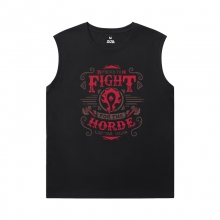 World Warcraft T-Shirt Blizzard Sports Sleeveless T Shirts