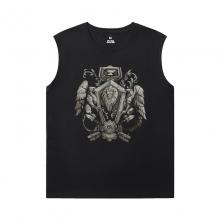 World Warcraft Tee Shirt Blizzard Sleeveless Tshirt For Men