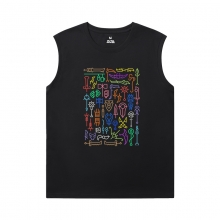 World Of Warcraft Men'S Sleeveless T Shirts For Gym Blizzard T-Shirts