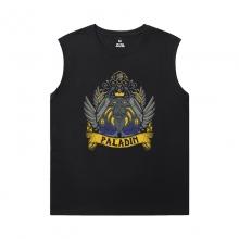 Blizzard Tshirt Warcraft Mens Graphic Sleeveless Shirts