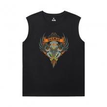 Blizzard Shirts WOW World Of Warcraft Mens Sleeveless Tee Shirts