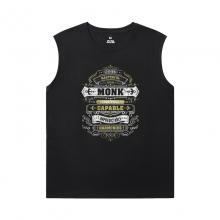 WOW Mens Designer Sleeveless T Shirts Blizzard Tee Shirt