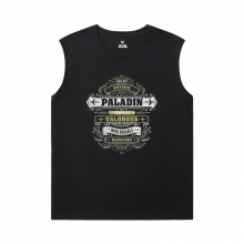 Blizzard Tshirts Warcraft Sleeveless Printed T Shirts Mens