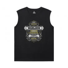 Blizzard Tshirt WOW World Of Warcraft Sleeveless T Shirts For Running