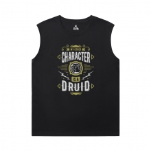 World Of Warcraft Mens Sleeveless Sports T Shirts Blizzard Tees