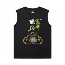 WOW Classic Shirt Blizzard Sleeveless Round Neck T Shirt