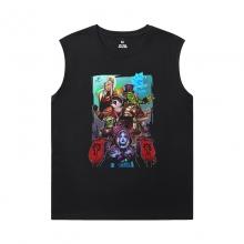 World Warcraft Tee Shirt Blizzard Sleeveless Crew Neck T Shirt