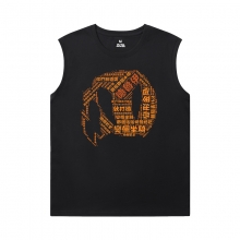WOW Classic Tees Blizzard Black Sleeveless Tshirt