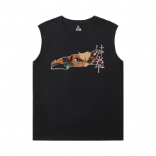 Anime Demon Slayer Men'S Sleeveless Muscle T Shirts Hot Topic T-Shirt