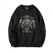 Black Sweatshirt Warcraft Coat