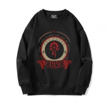 Crew Neck Coat World Of Warcraft Sweatshirts