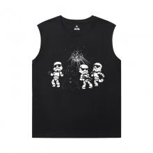 Cotton Shirts Star Wars Sleeveless Wicking T Shirts