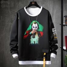 Batman Joker Coat Fake Two-Piece Sweatshirt