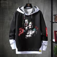 Batman Joker Tops Fake Two-Piece Sweatshirts