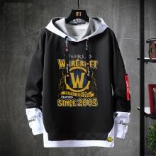 Blizzard WOW Sweater Fake Two-Piece Sweatshirts