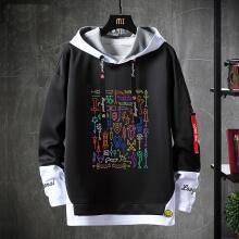 Warcraft Coat Fake Two-Piece Sweatshirt