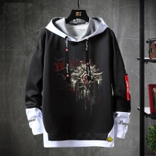 Fake Two-Piece Sweatshirt World Warcraft Sweater