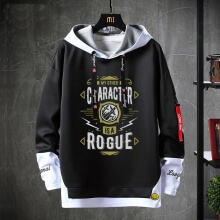 WOW World Of Warcraft Hoodie Fake Two-Piece Sweatshirts