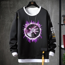 World Warcraft Coat Fake Two-Piece Sweatshirts