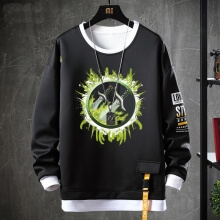 World Of Warcraft Tops Fake Two-Piece Sweatshirts