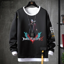 Quality Nero Sweatshirts Devil May Cry Tops