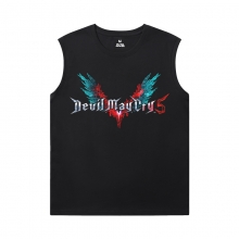 Cotton Nero Tshirt Devil May Cry T Shirt Without Sleeves