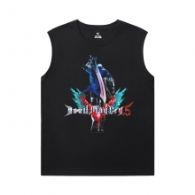 Devil May Cry Cheap Sleeveless T Shirts Quality Nero Tees