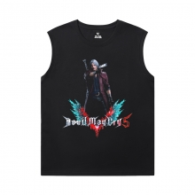 Devil May Cry Men'S Sleeveless Graphic T Shirts Cool Nero Tee