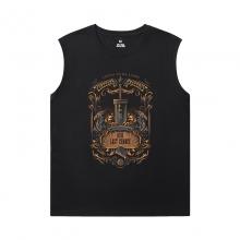 Final Fantasy T-Shirts Cool Sleeveless Printed T Shirts Mens