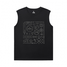 Final Fantasy T-Shirt Hot Topic Mens T Shirt Without Sleeves