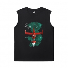Cowboy Bebop Black Sleeveless Shirt Men Cotton Tee Shirt