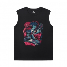 Cowboy Bebop T-Shirts Cool Black Sleeveless Tshirt