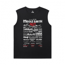 Cowboy Bebop Sleeveless T Shirt For Gym Cotton Tees